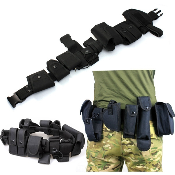 10 in 1 Sports Tactical Belt Racing Hiking Military Outdoor Game