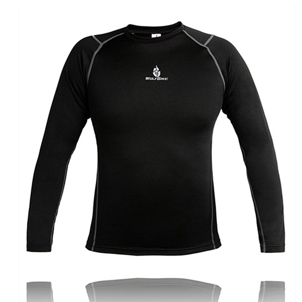 WOLFBIKE Autumn And Winter Riding Jersey Fleece Keep Warm Athlet
