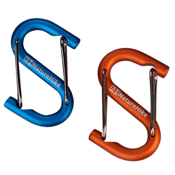 Naturehike Carabiner S Shape Mountaineering Buckle Bottle Buckle