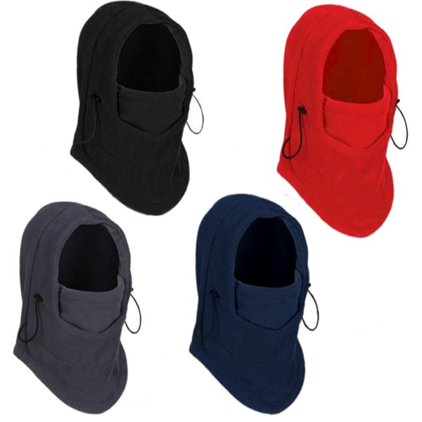 Thermal Fleece Balaclava Hat Hood Ski Bicycle Motorcycle Racing