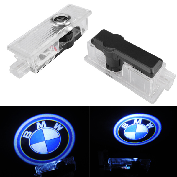 Cree 5W LED Door Welcome Emblems Light With Car Logo for BMW Spe