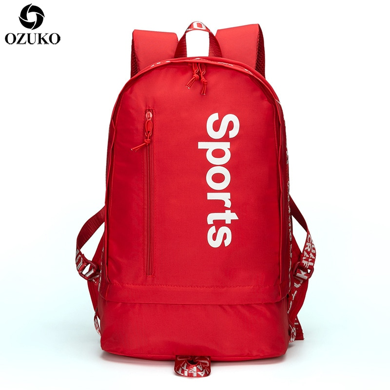 Multifunction Sports Backpack with Shoes Bag for Men Women Lapto