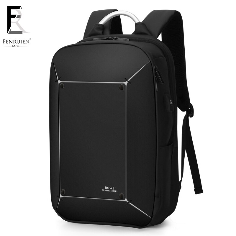 Charging Men 17 inch Laptop Backpack Waterproof High Capacity Mo