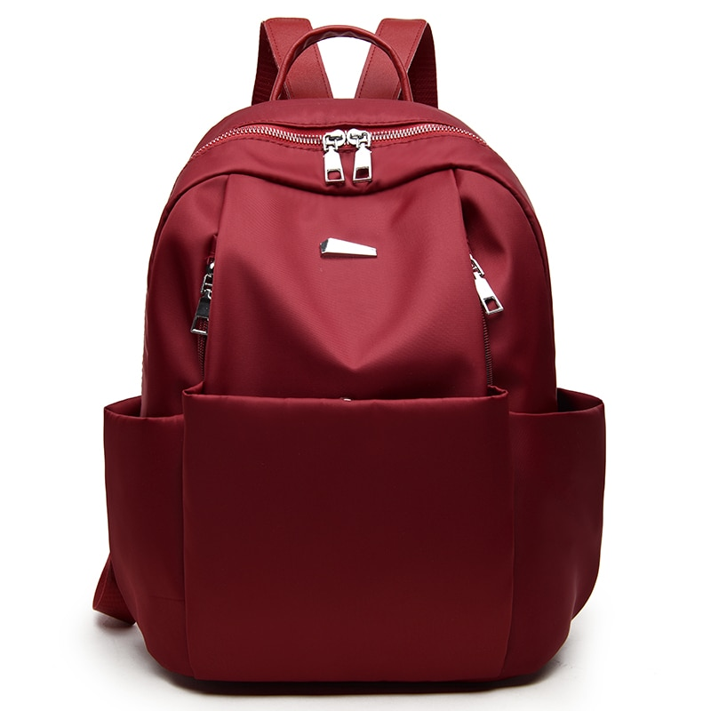 2018 Leisure Oxford women Mini Backpack Female Solid Color Bookb