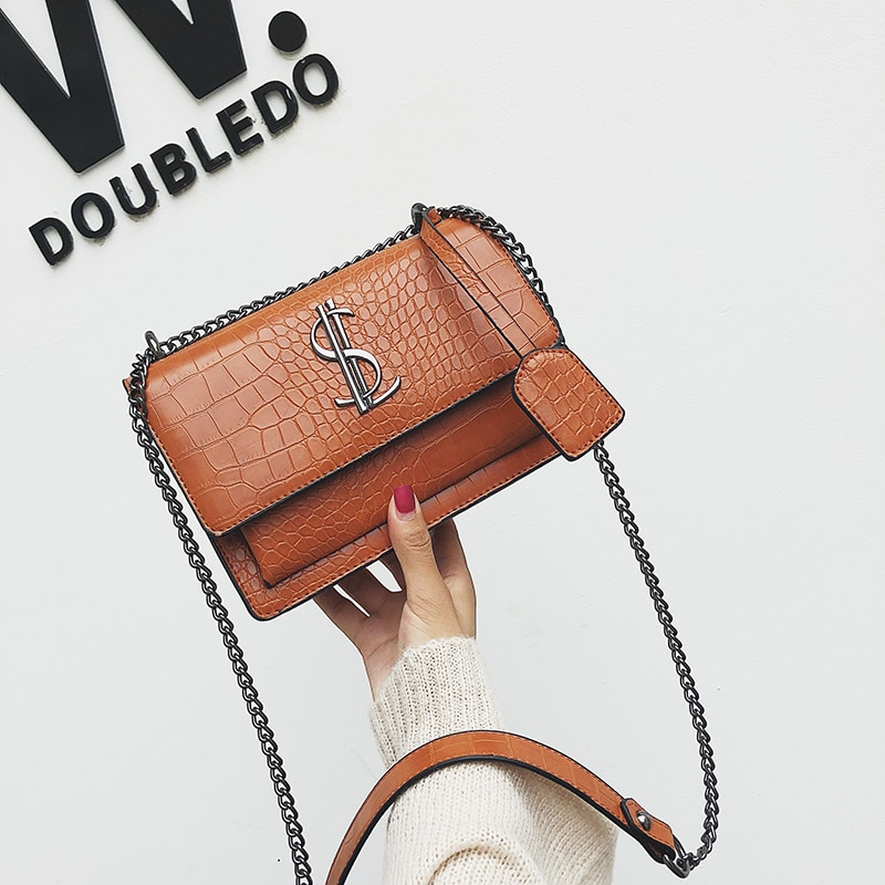 Famous Brand Women Bags Designer Lady Classic Plaid Shoulder Cr