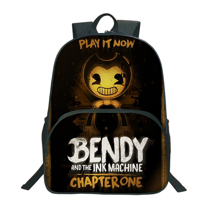 And The Ink Machine Backpacks For Children School Bags Cartoon G