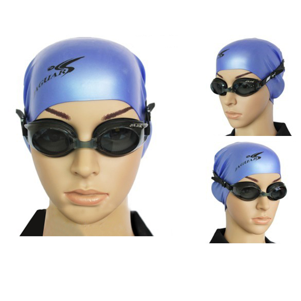 Silica Gel Waterproof Anti Fog Swimming Glasses Goggles For Adul