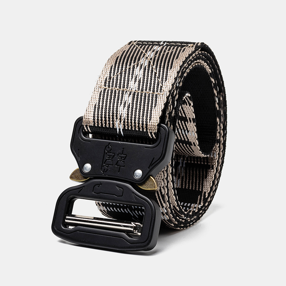160cm Nylon Waist Leisure Belts Zinc Alloy Tactical Belt Quick R