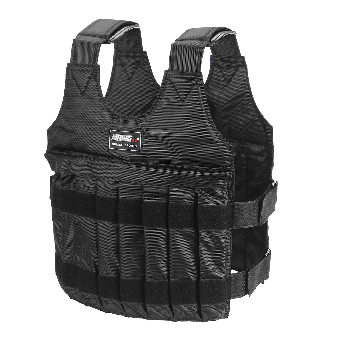 20/50kg Loading Weighted Vest Tactical Vest Adjustable Weight Bo