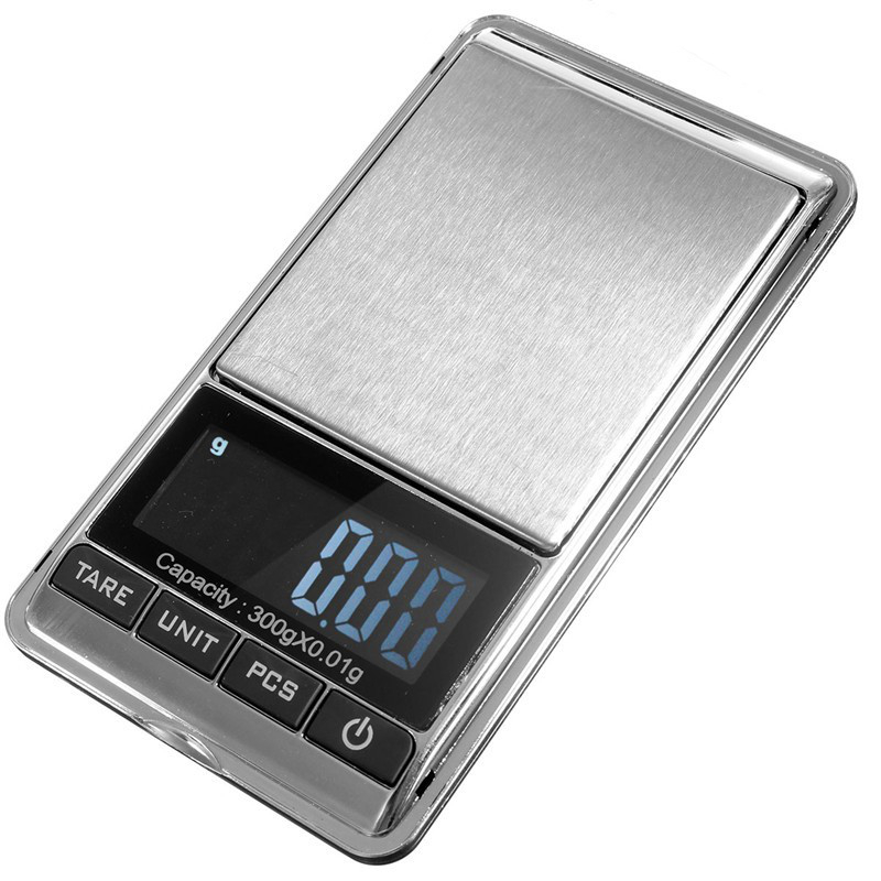 300gx0.01g MiNi Electronic Digital Scale Jewelry Balance Digital