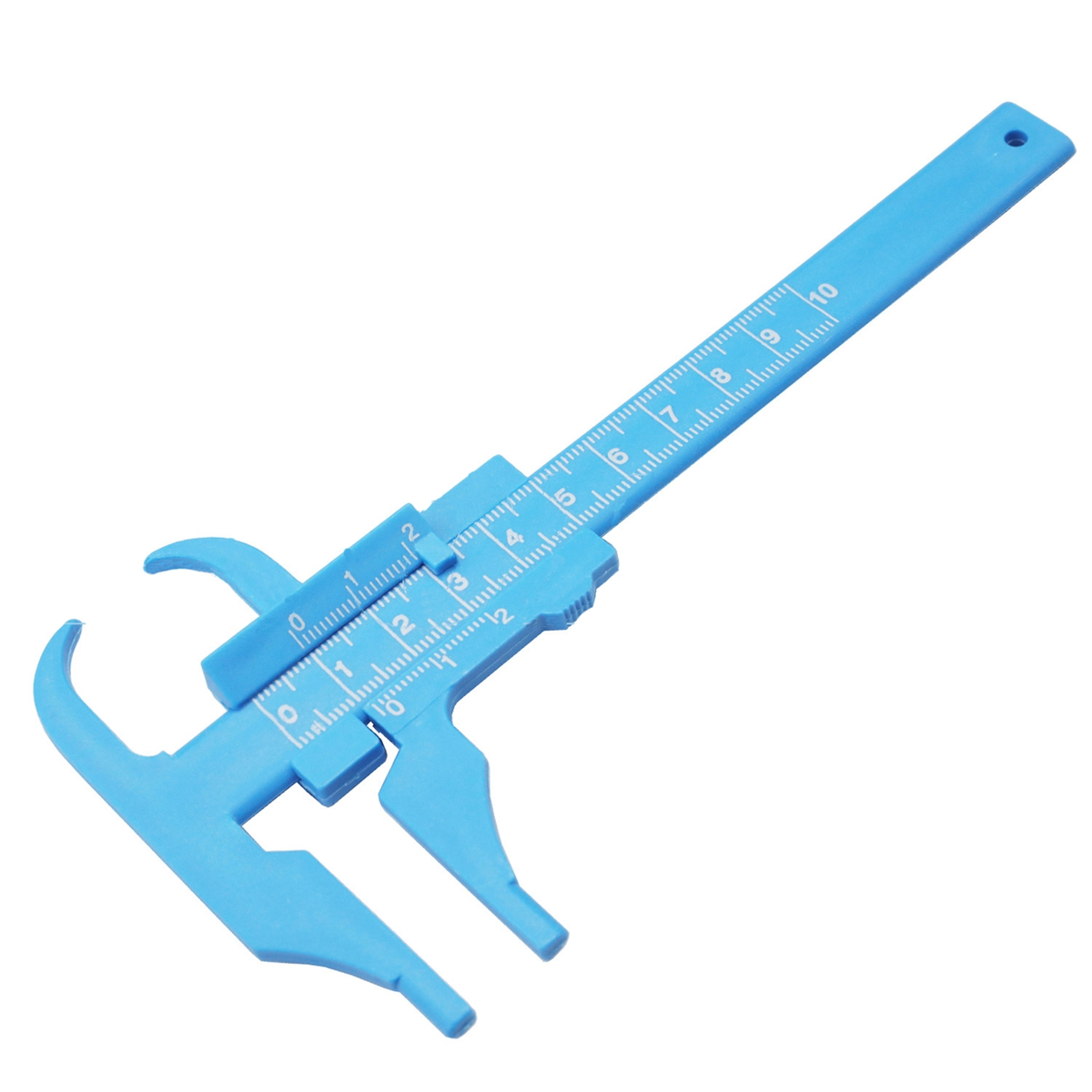 0-100MM 0.5MM Plastic Vernier Caliper Beauty Caliper Sliding Gau