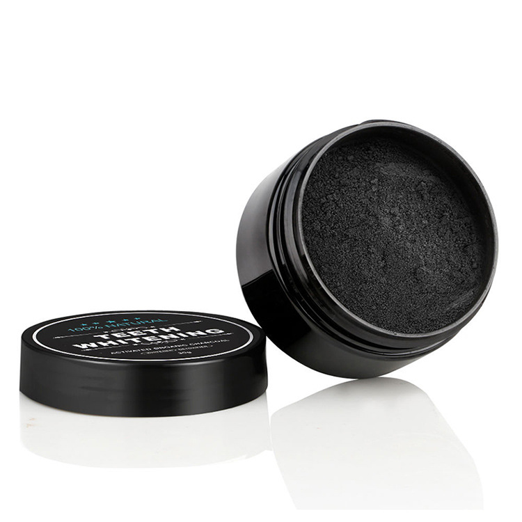 100% Natural Activated Bamboo Charcoal Teeth Whitening Powder Sm