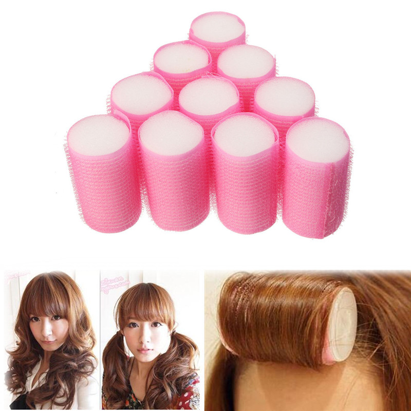 10Pcs Soft Foam Curler Curler Accessories Female Sleeping Hair S