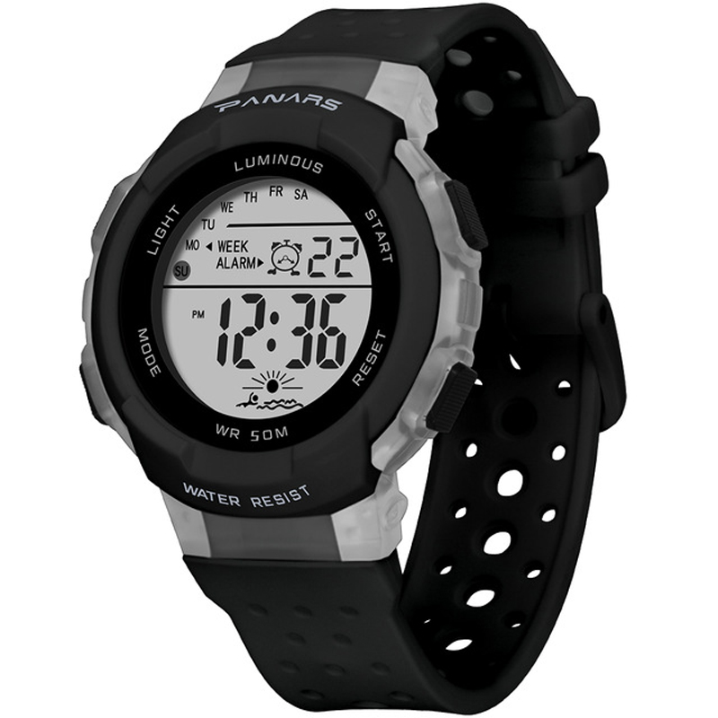 SYNOKE 8138 Sport Colorful Children Watch 5ATM Waterproof Lumino