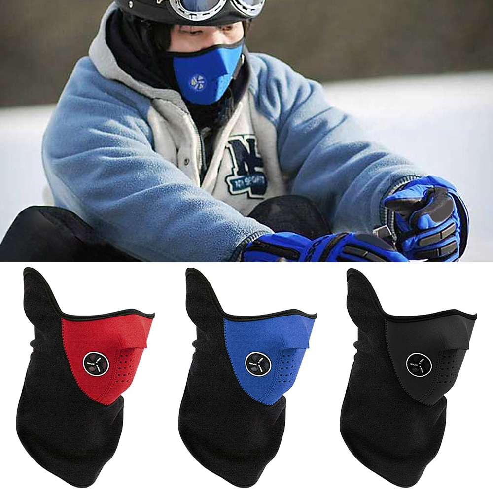 1Pc Cycling Skiing Snowboard Face Mask Anti Particle Dust-Proof