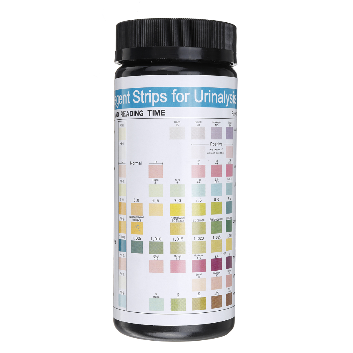 100pcs URS 10T Urine PH Test Kit Strip Convenient Alkaline Poor
