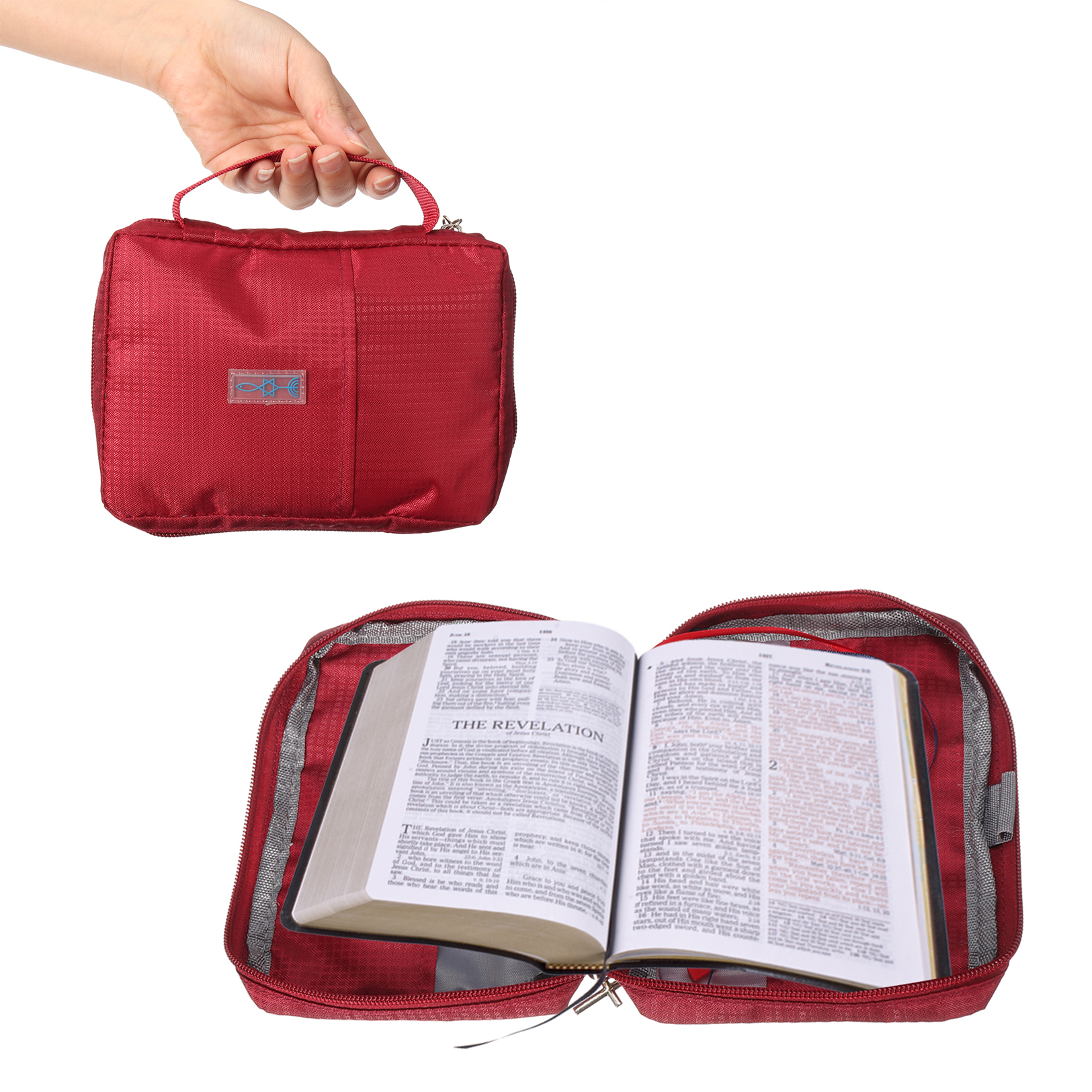 Large Bible Study Book Holy Cover Case Carry Bag Study Book Prot