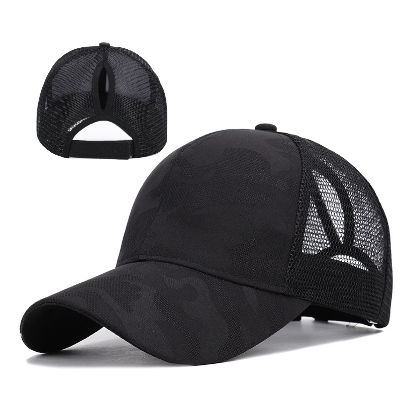 New Arrival Ladies Summer Fashion Sports Ponytail Baseball Cap W