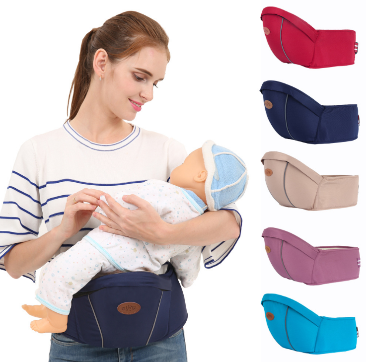 Max Load 15KG Breathable Baby Carriers Waist Stool Walkers Kids