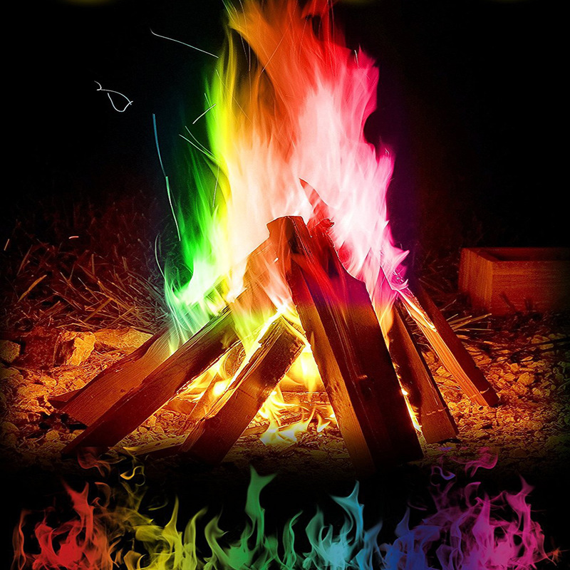 10g Mystical Fire Coloured Magic Flame for Bonfire Campfire Part
