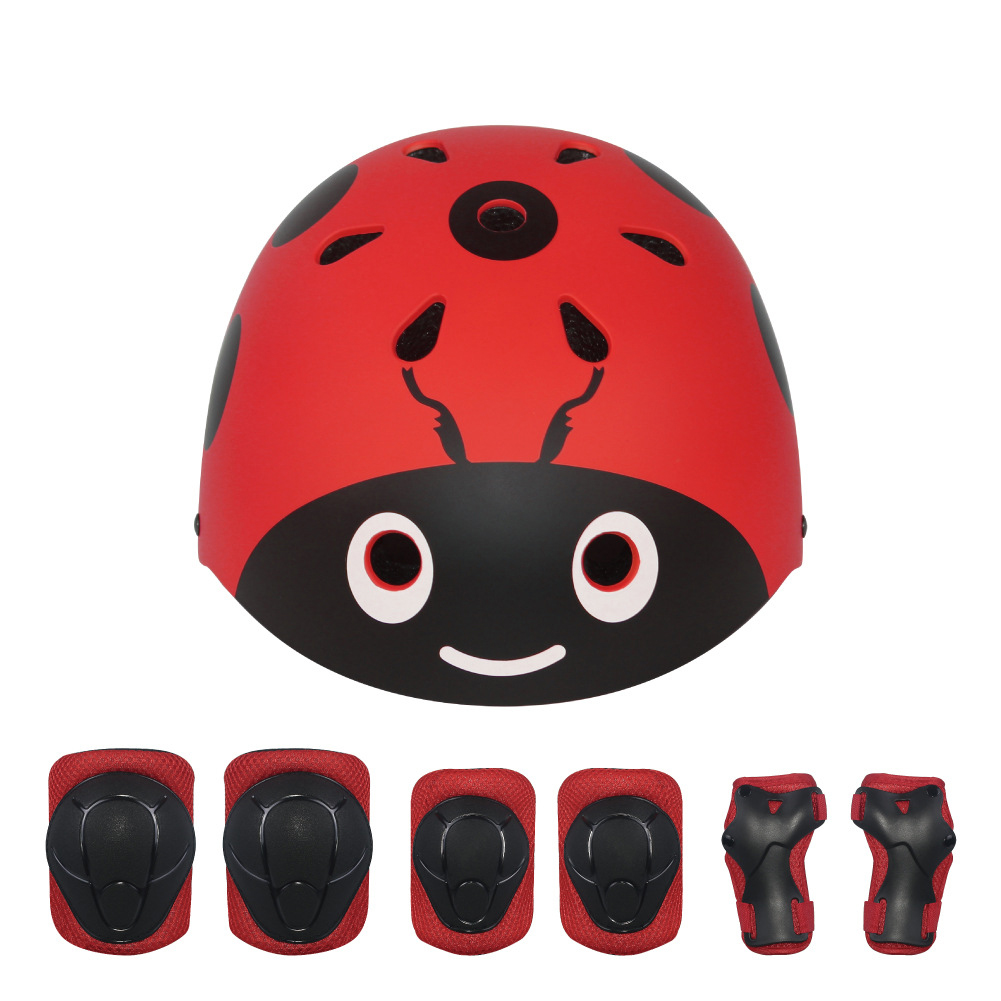 7Pcs/Set LANOVA Children Sport Protective Gear Set Kids Cycling