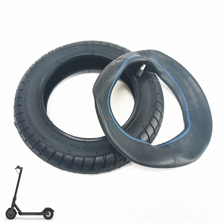 10x2.0 Electric Scooter Inner Tube Inflatable Tyre Thickened Tir