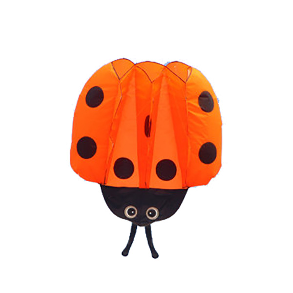 1.4m Children Ladybug Kite Portable Outdoor Funny Game Sport Par