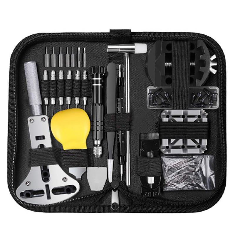153 Pcs Watch Repair Tools Kit Professional Spring Bar Watch Bat