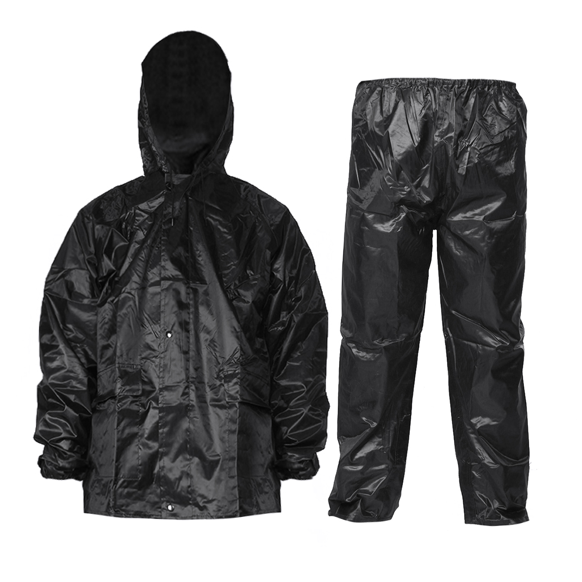 1 Set Men Waterproof Breathable Motorbike Rain Suit Reflective R