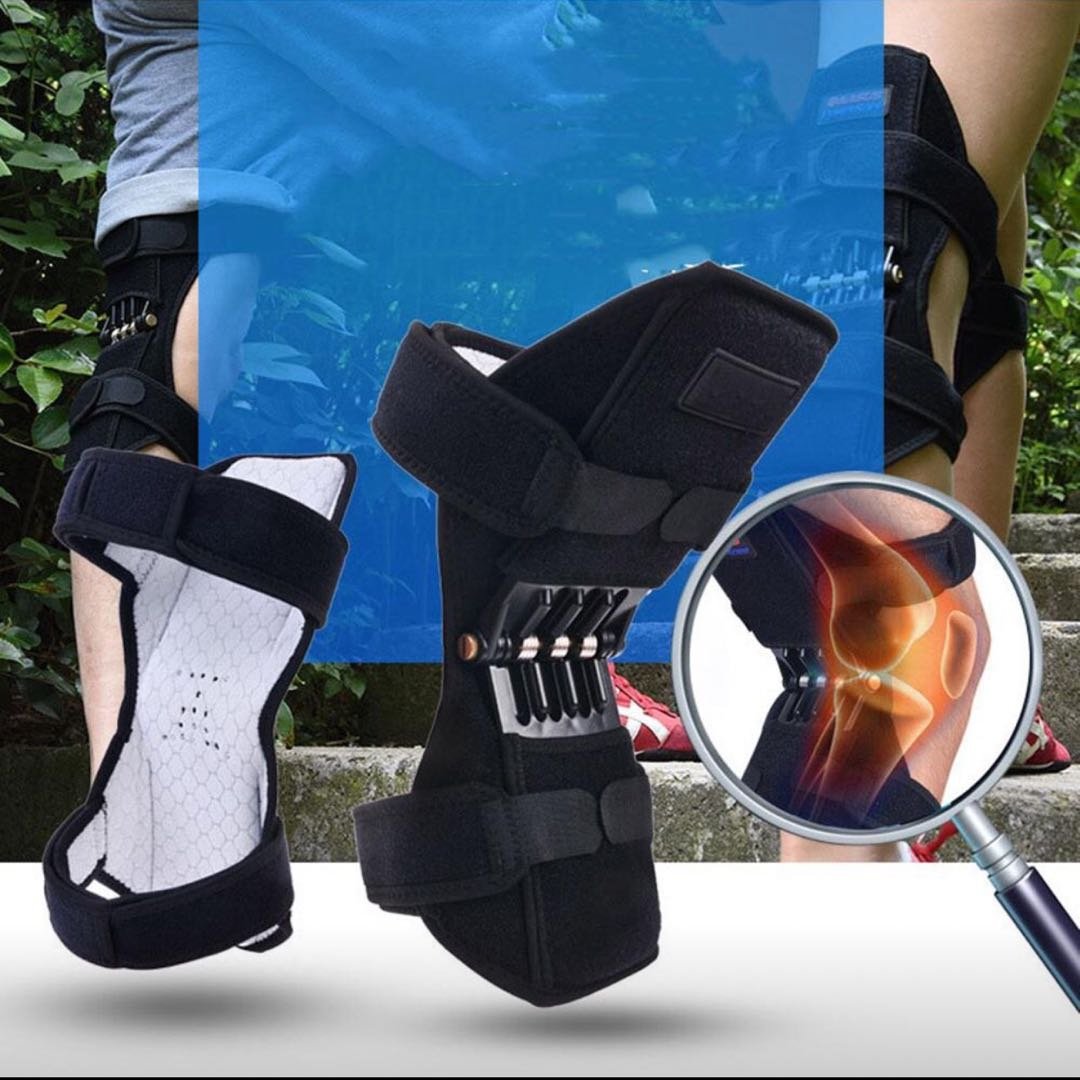 1 Pair Kneepad Knee Protection Booster Old Cold Leg Mountaineeri