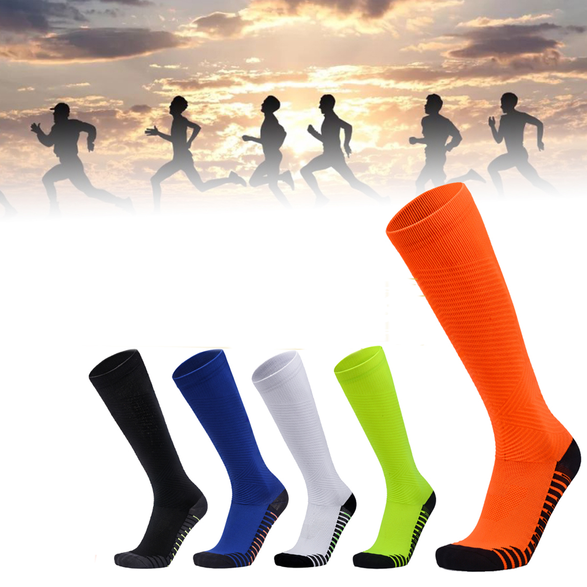 1 Pair Compression Stocking Outdoor Running Football Basketball