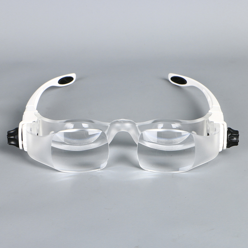 3.8X Bracket TV Reading Glasses Magnifier Loupe Goggles Headband