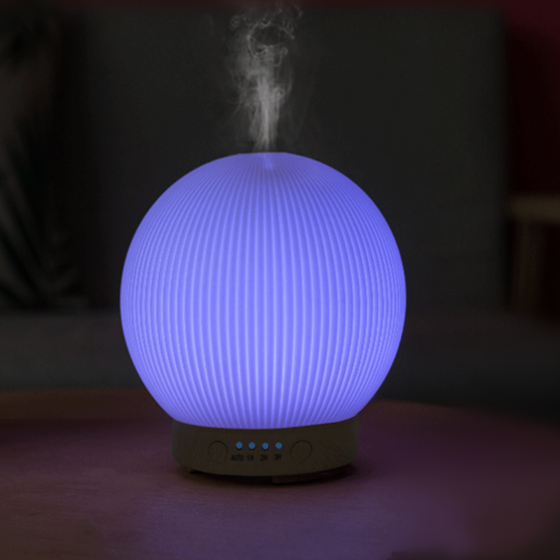 100~240V 7Color Ultrasonic LED Lights Essential Aroma Diffuser A