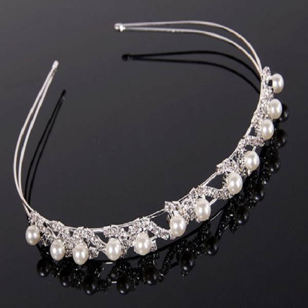 Classic Bridal Crown Jewelry Hair Bands Wedding Headpieces Headw