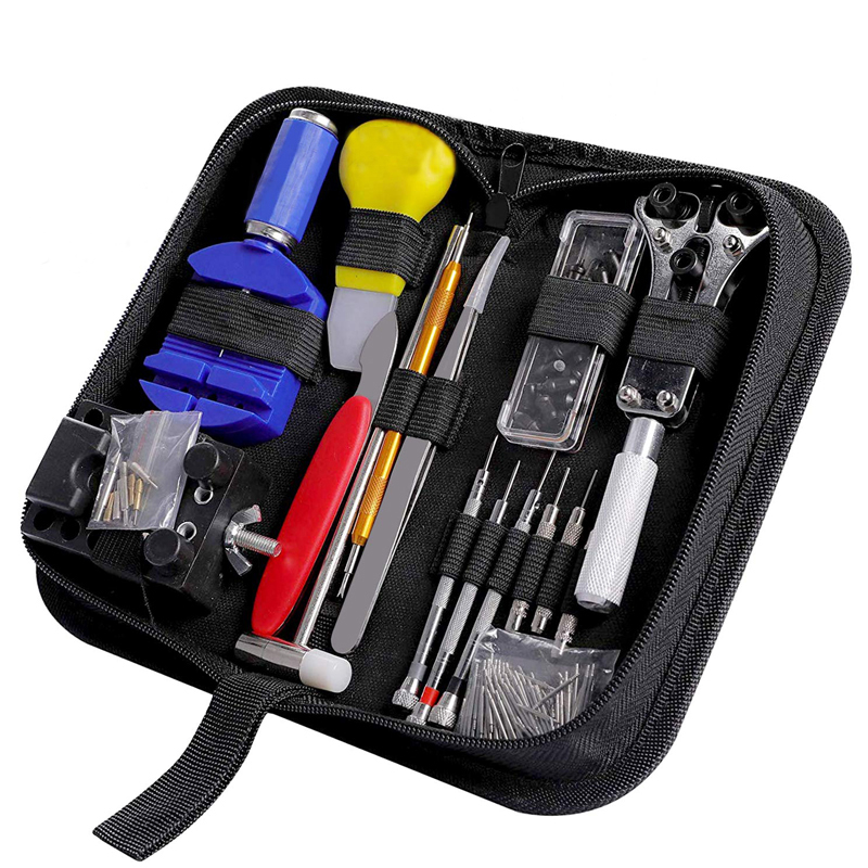 174 pcs Watch Repair Tool Kit Watch Remover Case Opener Spring P