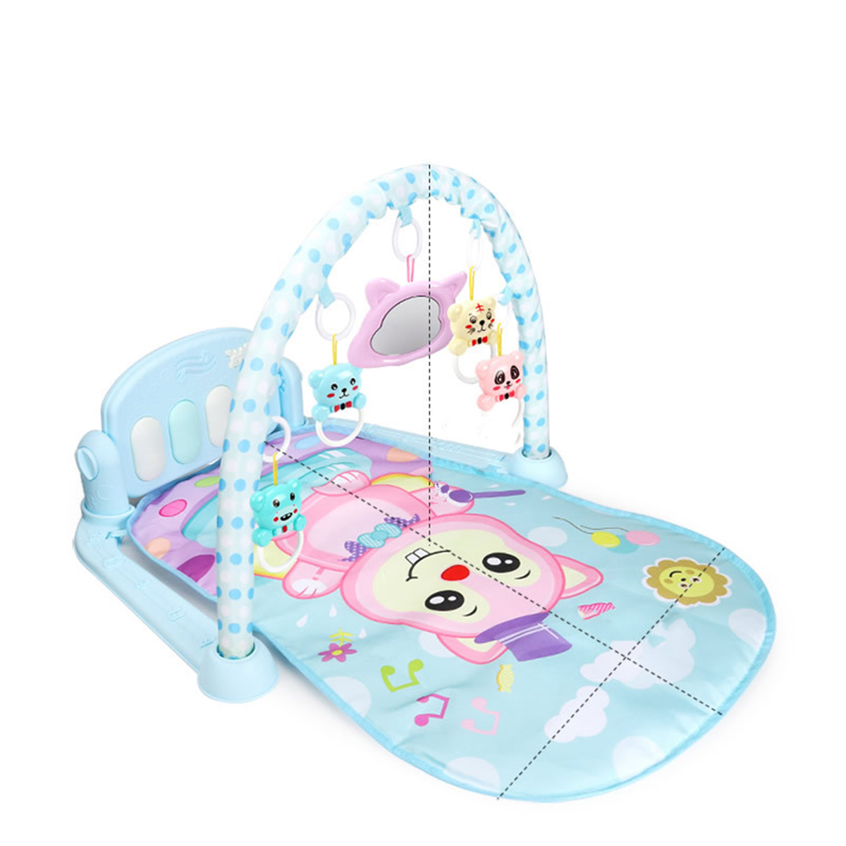 Baby Mini Musical Piano Carpet Educational Toys For 0-36 Months