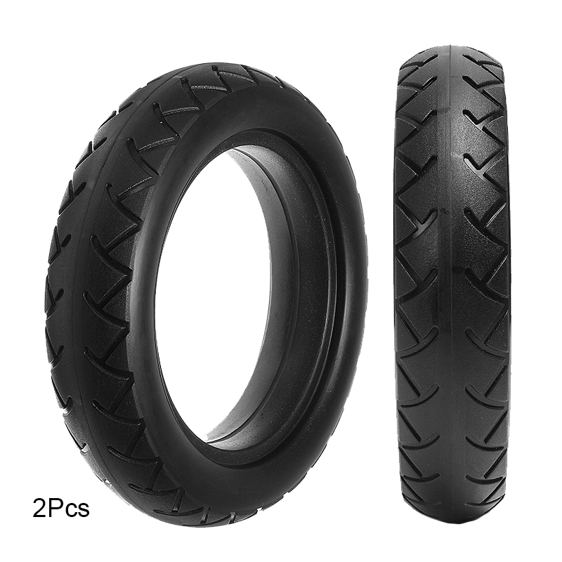 2Pcs  Micropores Vacuum Solid Tire Xiaomi Mijia M365 Electric Sc
