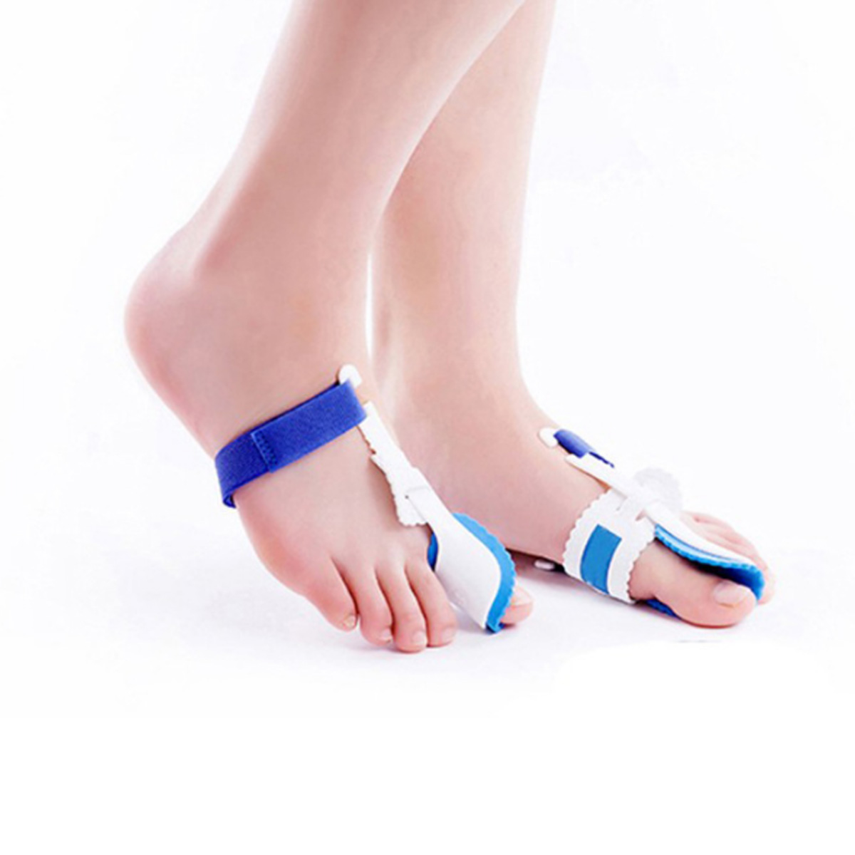 1 Pair Foot Support Pedicure Bunion Corrector Toe Separator Orth
