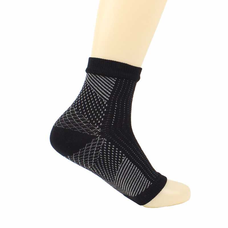 1 Pair Foot Sleeve Compression Sock Sore Wear Foot Relieves Plan