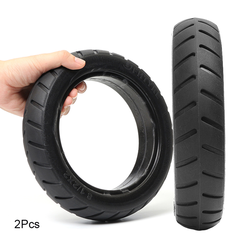 2Pcs Scooter Tire Vacuum Solid Tyre Xiaomi M365 Electric Scooter