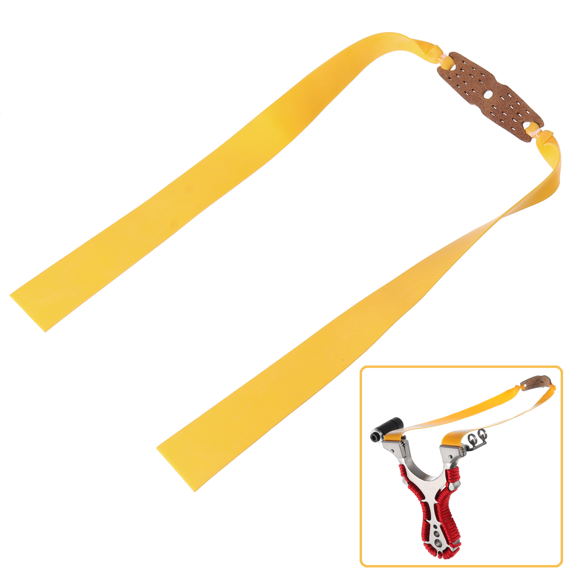 1PCS Elastic Bungee Rubber Band For Laser Slingshots Catapults R