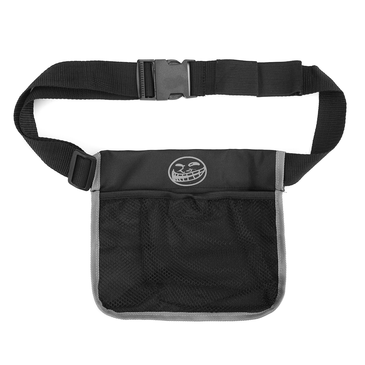 22.5x20cm Nylon Waist Bag Adjustable Storage Bag Waterproof Spor