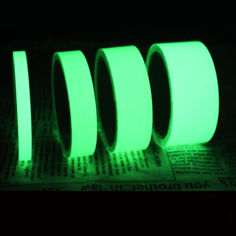 10M Length Multi-Purpose Luminous Tape Self-adhesive Glow In Dar