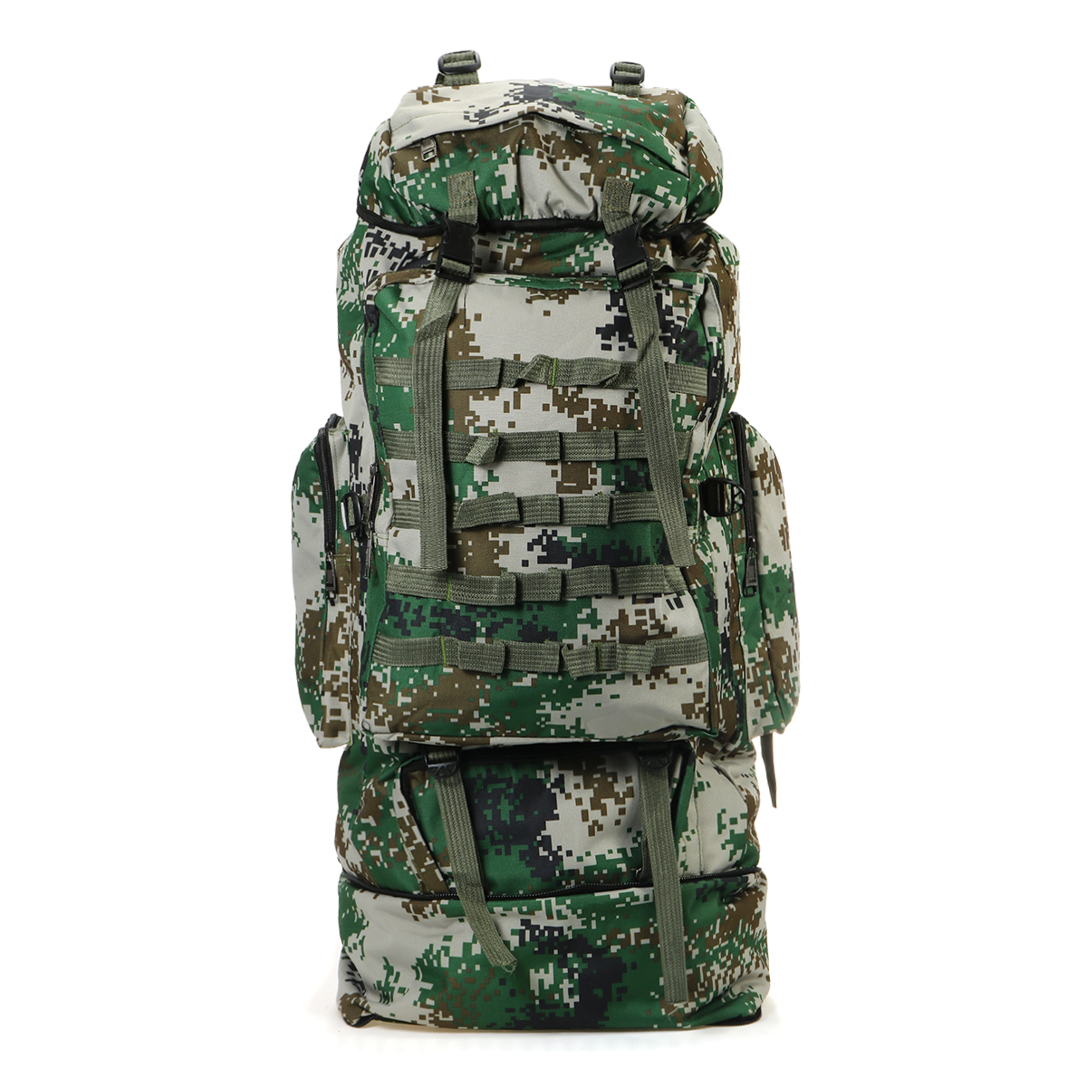 100L Outdoor Folding Backpack Military Tactical Shoulder Bag Rid
