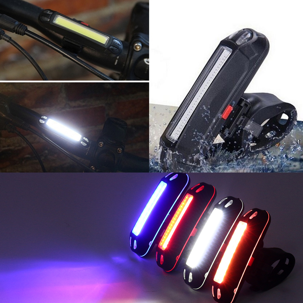 100LM High Brightness LED Bike Tail Light Bicycle MTB Night Warn