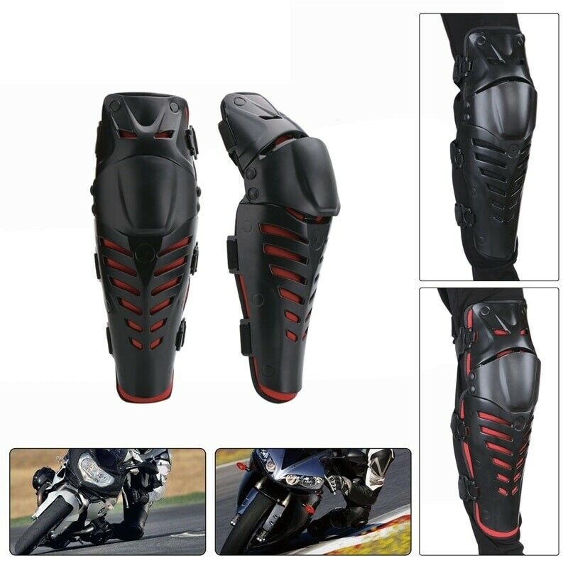 1 Pair Skiing Motorcycle Cycling Sports Knee Pad Shatter-resista