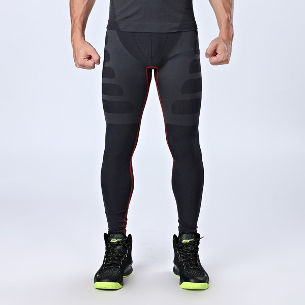 Mens Professional Sports Compression Tights Quick Dry Breathable