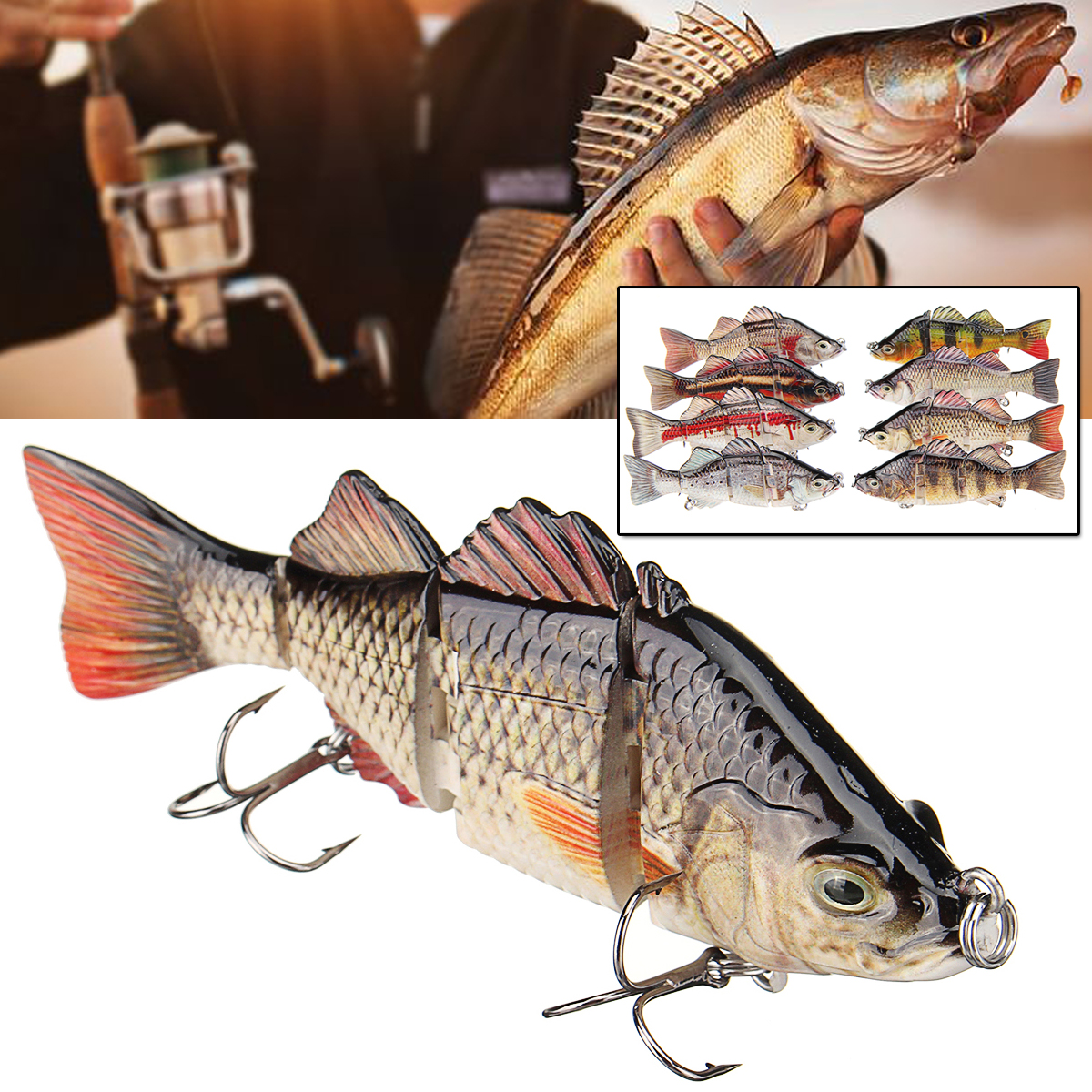 1 Pcs Fishing Lure Fishing Tiddler Bait Outdoor Hunting Fishing