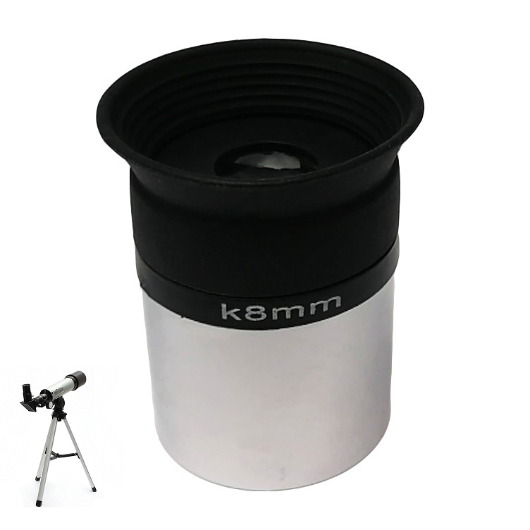 1.25ch Astronomical Telescope Eyepiece FMC Coated 8mm With Filte
