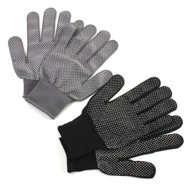1 Pair Heat Resistant Finger Glove Hair Straightener Perm Curlin